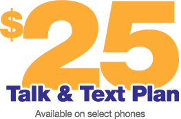 25 Talk & Text Plan Brazcom Wireless